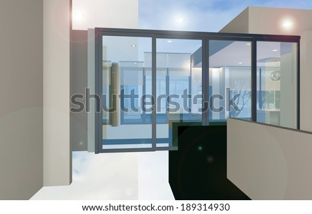 interior abstract