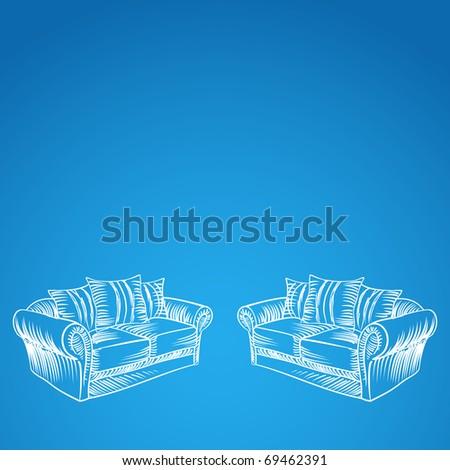 interior background, jpg - stock photo