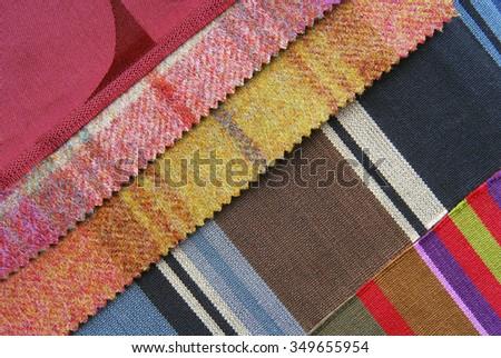 interior color design selection - stock photo