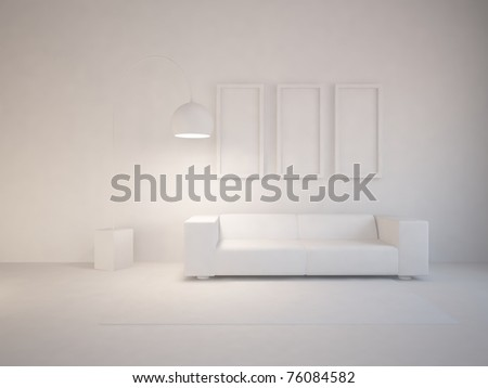 interior concept - stock photo