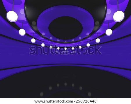 interior 3D rendering - stock photo