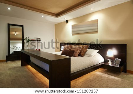 Interior Design Big Modern Bedroom
