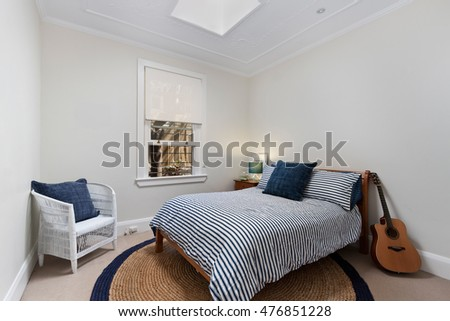 Interior design  Big modern Bedroom. Interior Design Big Modern Bedroom Stock Photo 482902627