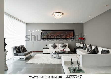 Interior Design  Living room. Interior Stock Images  Royalty Free Images   Vectors   Shutterstock