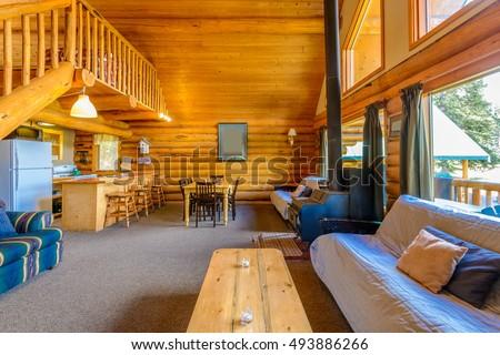 interior design luxury living room small stock photo image