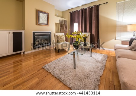 Beautiful Living Room Architecture Stock Images Stock Photo 118133251 Shutterstock