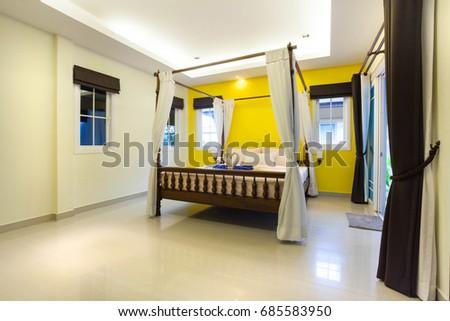 Interior Design Master Bedroom Luxury Cozy Stock Photo & Image ...