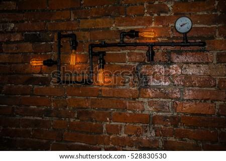 interior design vintage wall rustic design stock photo royalty free