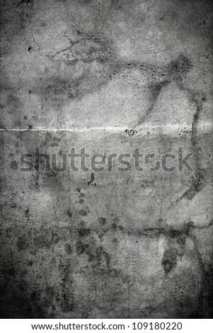 Interior Design - Old Wall - stock photo
