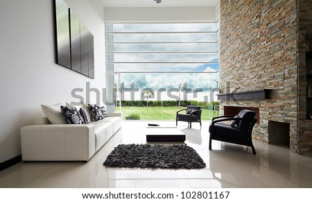 Interior Design Series Modern Living Room