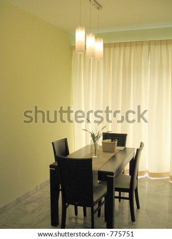 Interior design.  some noise at full size - stock photo
