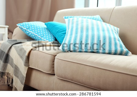 sofa cushions stock images, royalty-free images & vectors