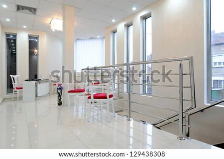 Interior hospital-Waiting room - stock photo