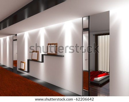 interior hotel - stock photo