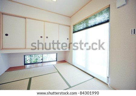 INTERIOR IMAGE  Japanese Style Living Room With Tatami Mat 1