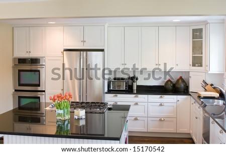 Interior Kitchen - stock photo