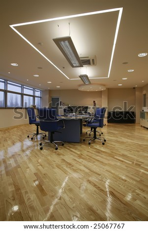 interior of a boardroom