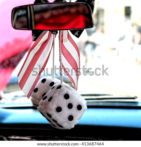 fuzzy dice stock images royalty free images vectors shutterstock. Black Bedroom Furniture Sets. Home Design Ideas