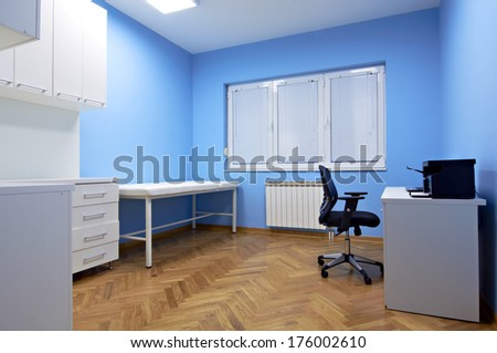 Interior Doctors Consulting Room Stock Photo Royalty Free