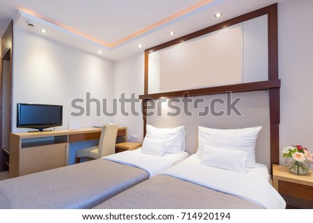 hotel bedroom chairs uk stock photo interior sets for sale furniture images