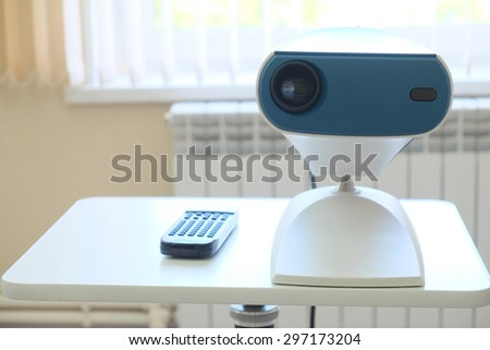 Interior of an ophthalmologic office - stock photo