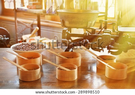 Interior of and old pharmacy - stock photo