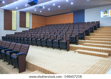 Interior of conference room