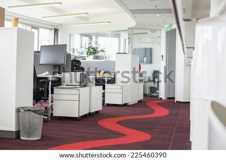 Interior of creative office - stock photo