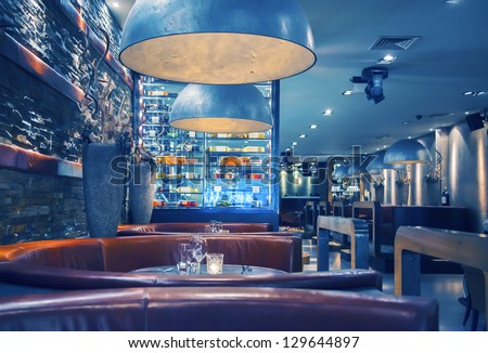 restaurant interior stock images, royalty-free images & vectors