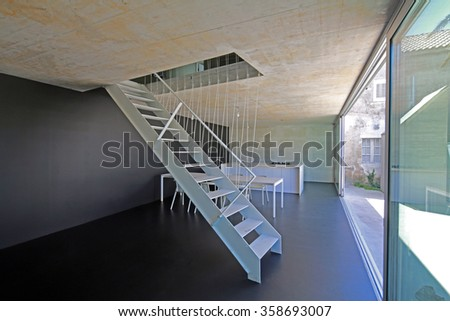 Interior of modern house on Adriatic