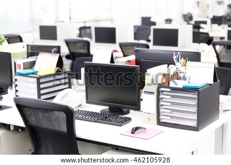 interior of office image