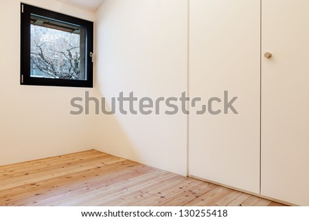 Interior of stylish modern house, view of a room