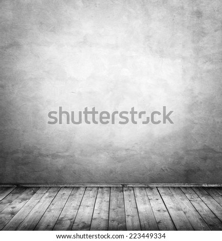 interior room with top lightening  - stock photo