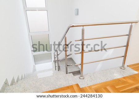 Interior Stairs - stock photo