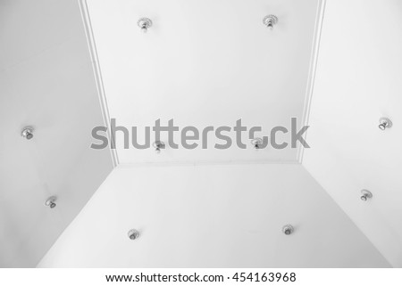 interior white ceiling