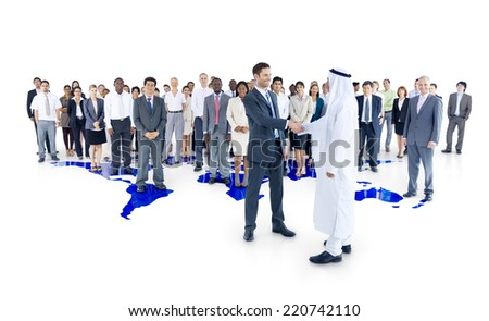 International Business - stock photo