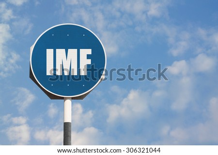 International Monetary Fund Sign