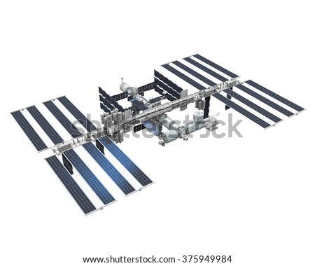 International Space Station - stock photo