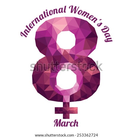 International Women's Day - stock photo