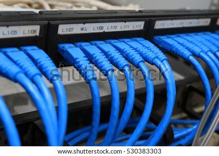 Internet Electronic Wire Cable System Safety Stock Photo (Royalty ...