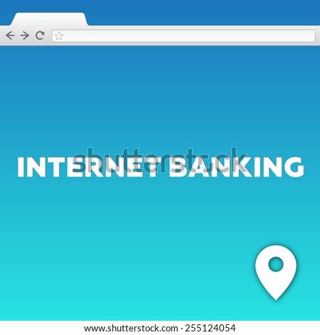 INTERNET BANKING - stock photo
