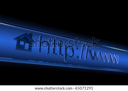 Internet browser home page address