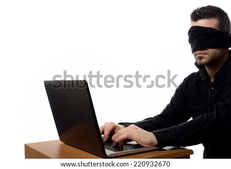 Internet censorship - stock photo