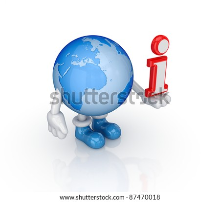 Internet concept.Isolated on white background.3d rendered.