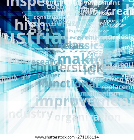 Internet concept. Text illustration image - stock photo