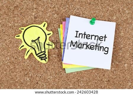Internet Marketing - stock photo