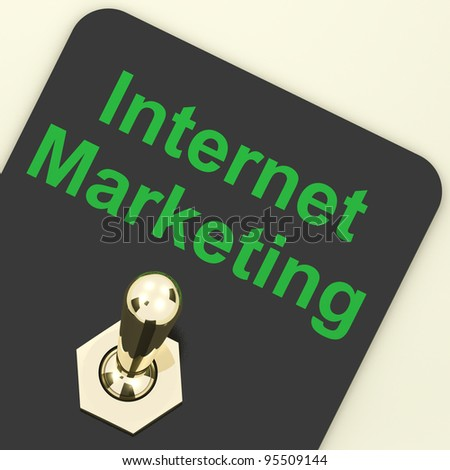 Internet Marketing Showing Online SEO Strategies And Development