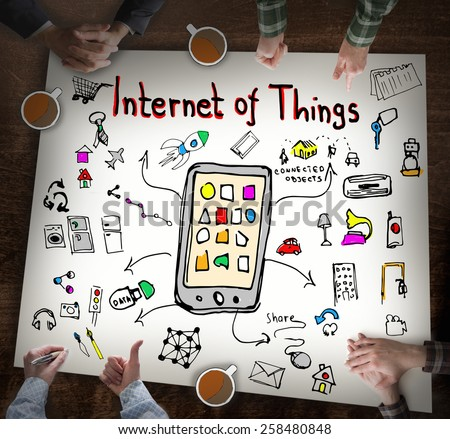 Internet of Things, Business concept - stock photo