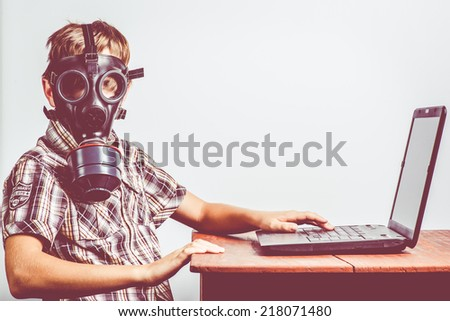internet protection - stock photo