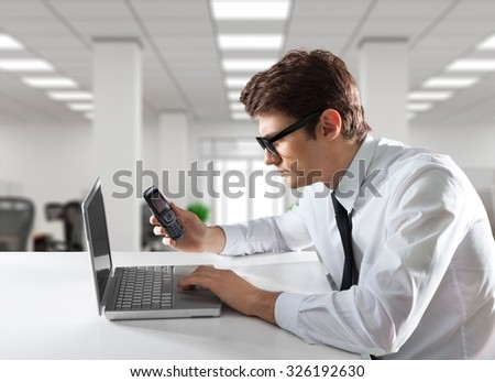 Internet research. - stock photo